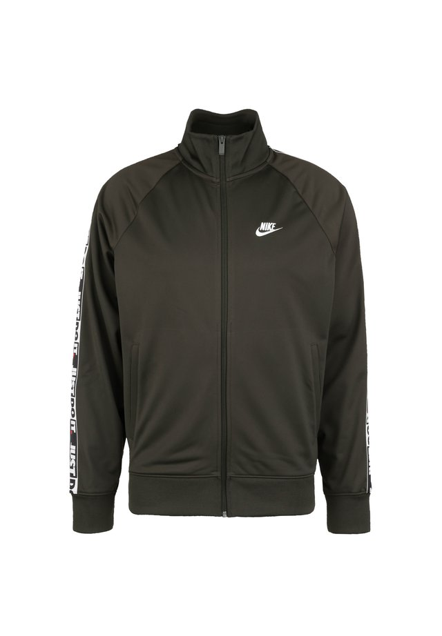 JUST DO IT  - Zip-up hoodie - sequoia