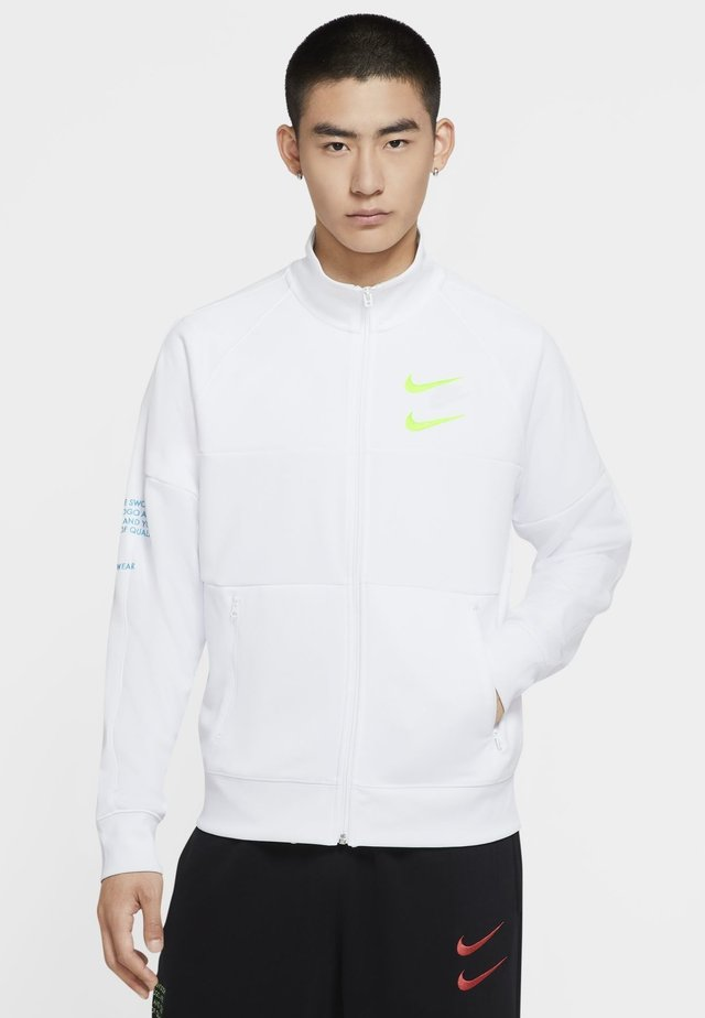 Sports jacket - white/white/volt