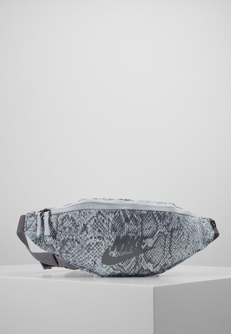 Nike Sportswear - HERITAGE HIP PACK - Ledvinka - gunsmoke/pure platinum/dark grey