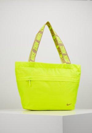 ADVANCED - Shopping Bag - lemon/smoke grey