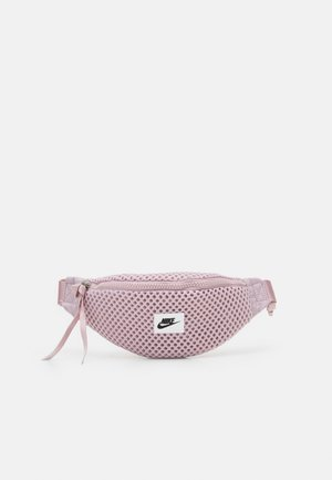 AIR WAIST PACK - Bum bag - plum chalk/black