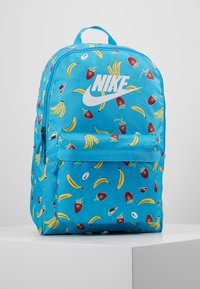 Nike Sportswear - HERITAGE - Mochila - current blue/white - 0