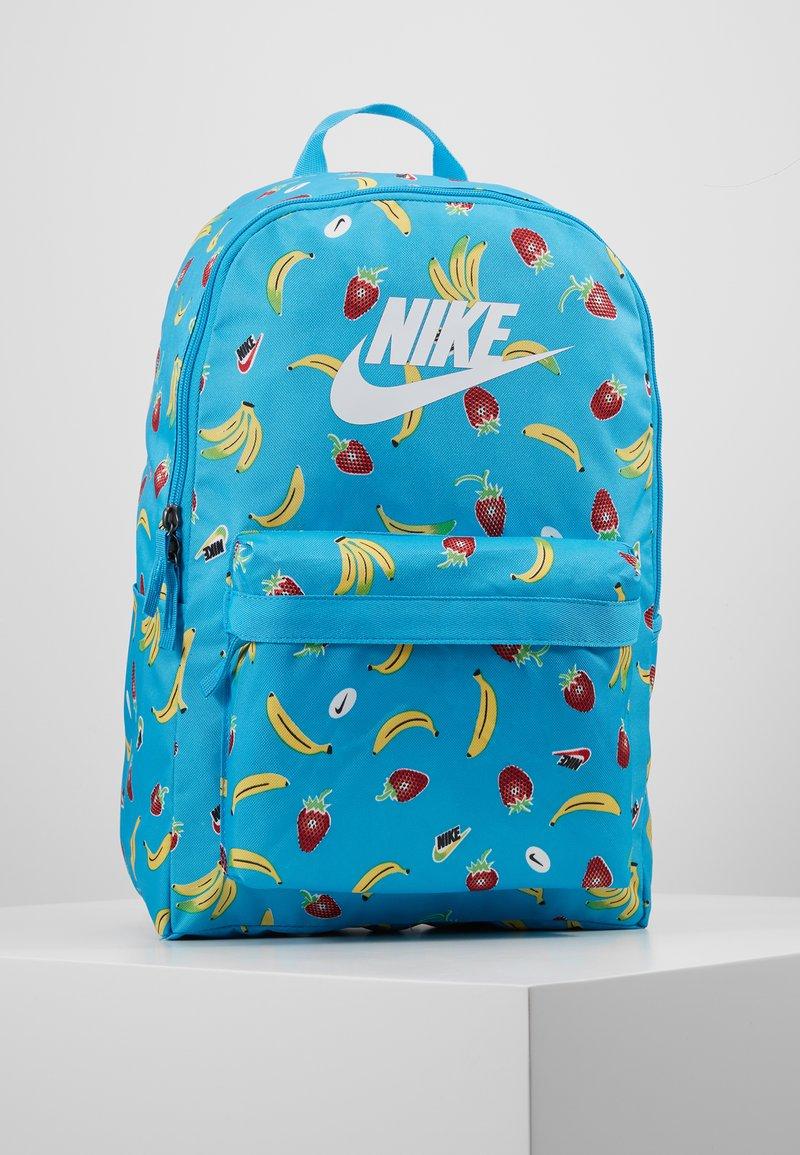 Nike Sportswear - HERITAGE - Mochila - current blue/white