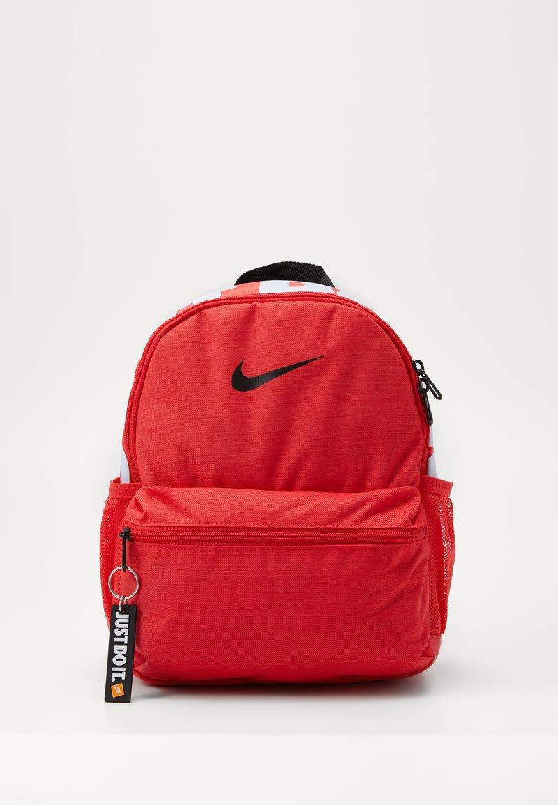 Nike Sportswear - BRASILIA  - Rugzak - track red/black/black