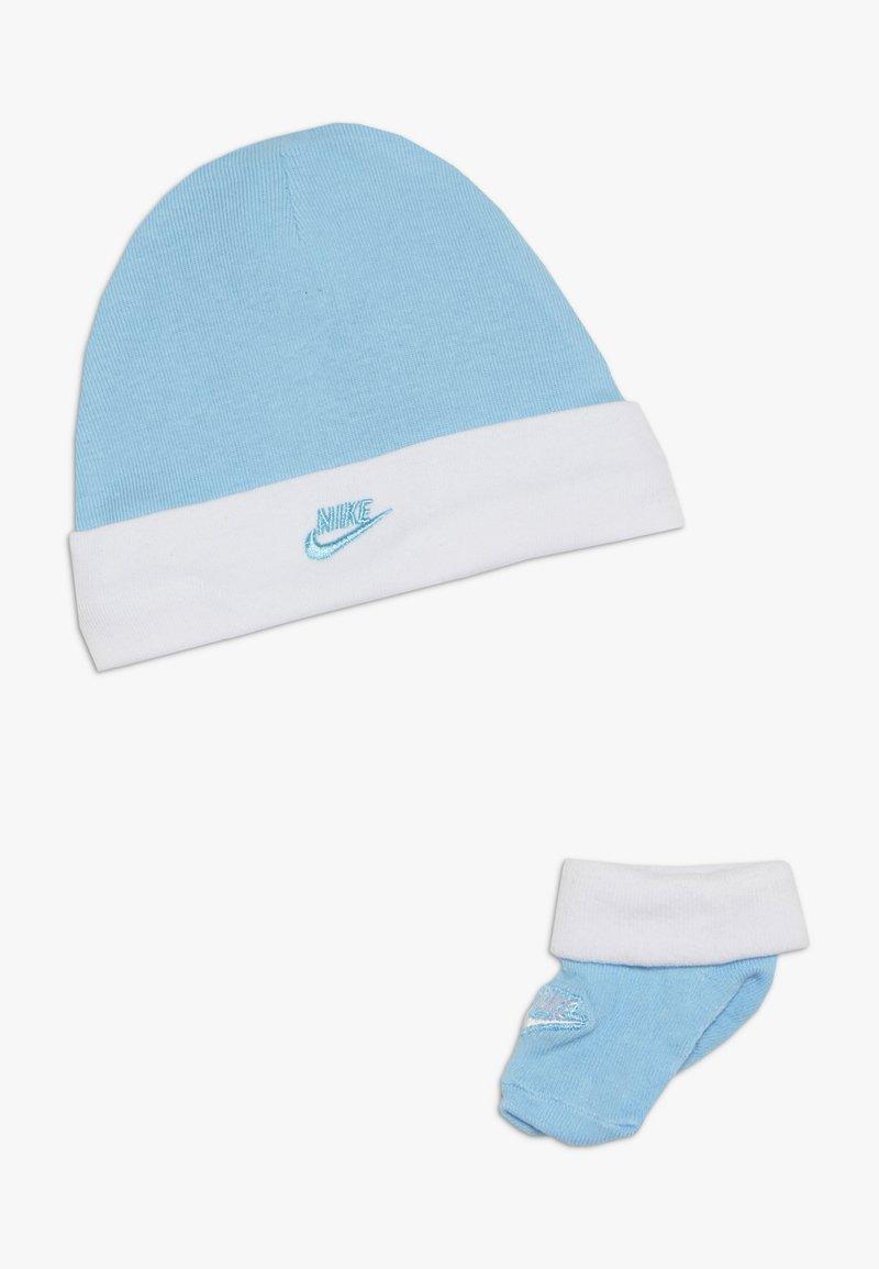 Nike Sportswear - FUTURA HAT AND BOOTIE BABY SET - Muts - blue gaze