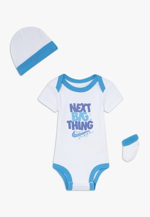 MOTIVATE VERBIAGE BABY SET  - Regalo per nascita - white