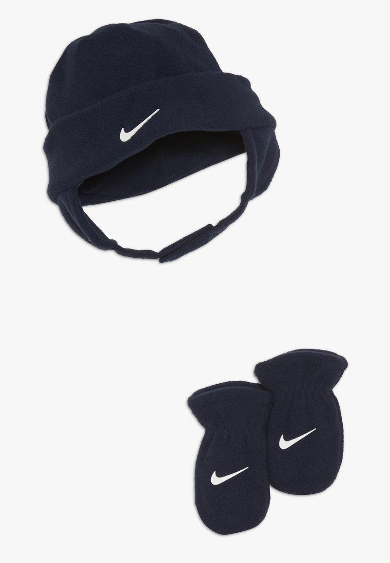 Nike Sportswear - BABY SET - Czapka - obsidian