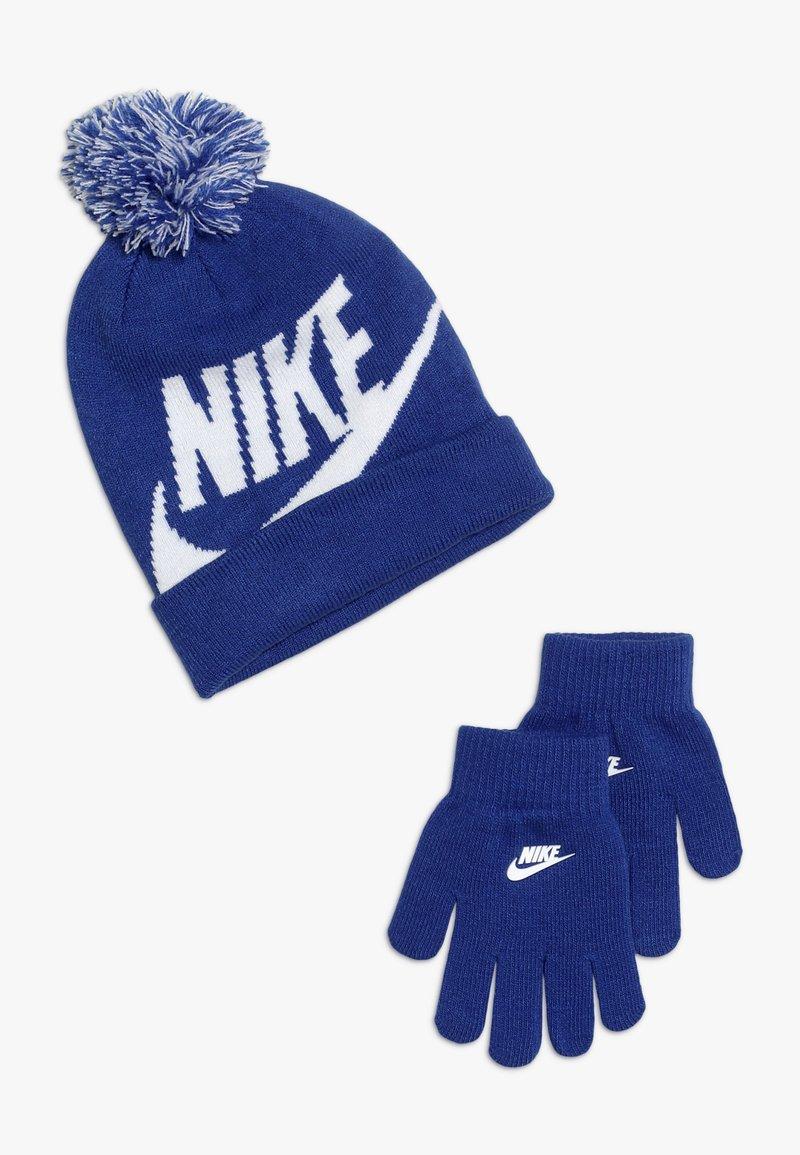 Nike Sportswear - POMBEANIEGLOVESET - Gants - game royal