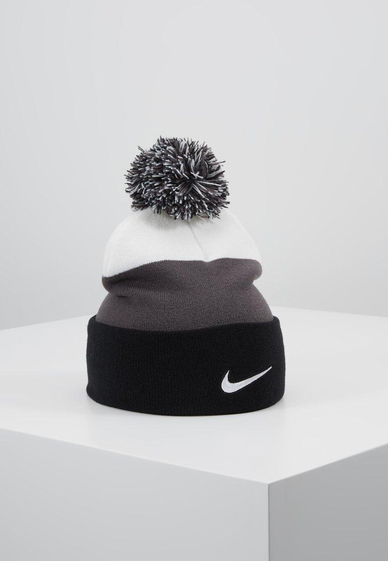 Nike Sportswear - BEANIE POM - Lue - black/white