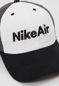 Nike Sportswear - AIR - Kšiltovka - black/white/carbon heather - 2
