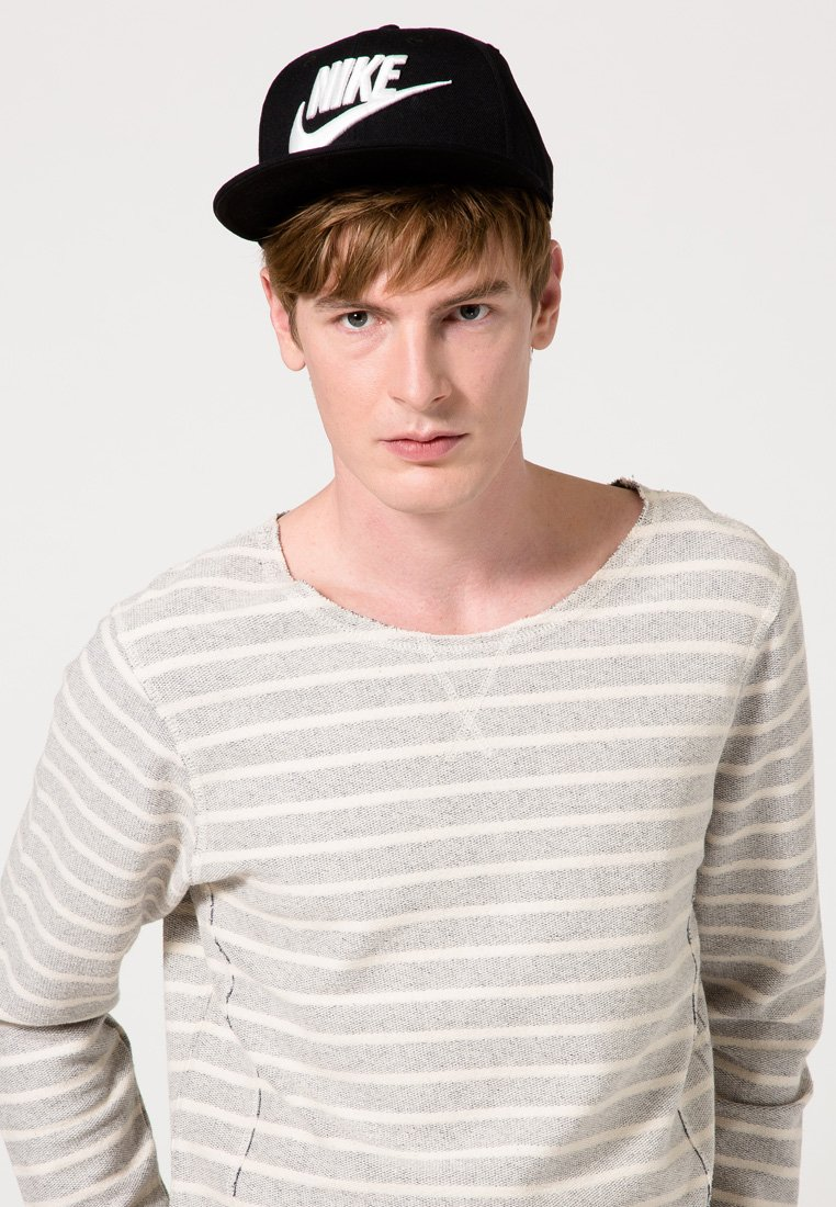 Nike Sportswear - FUTURA TRUE HAT - Cap - black/white