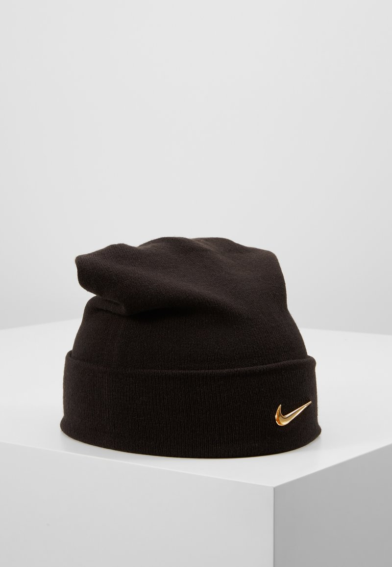 Nike Sportswear - BEANIE - Pipo - black/gold-coloured