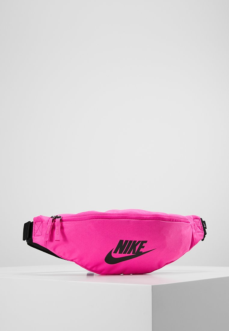 Nike Sportswear - HERITAGE HIP PACK - Bum bag - fuchsia/black