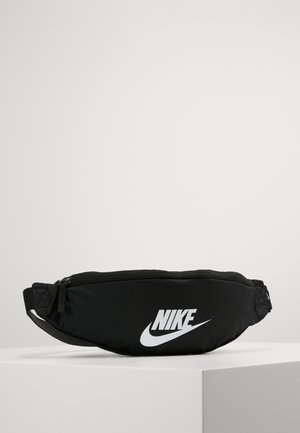 HERITAGE HIP PACK - Ledvinka - black/white