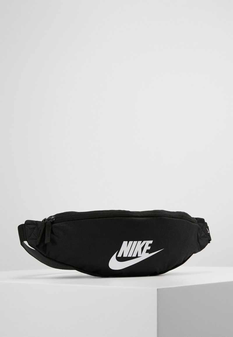 Nike Sportswear - HERITAGE HIP PACK - Marsupio - black/white