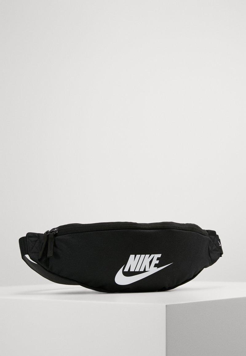 Nike Sportswear - HERITAGE HIP PACK - Bum bag - black/white