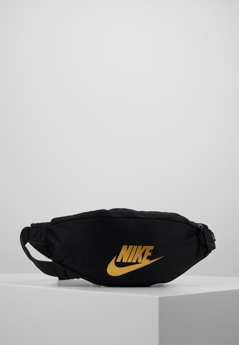 Nike Sportswear - HERITAGE HIP PACK - Bum bag - black