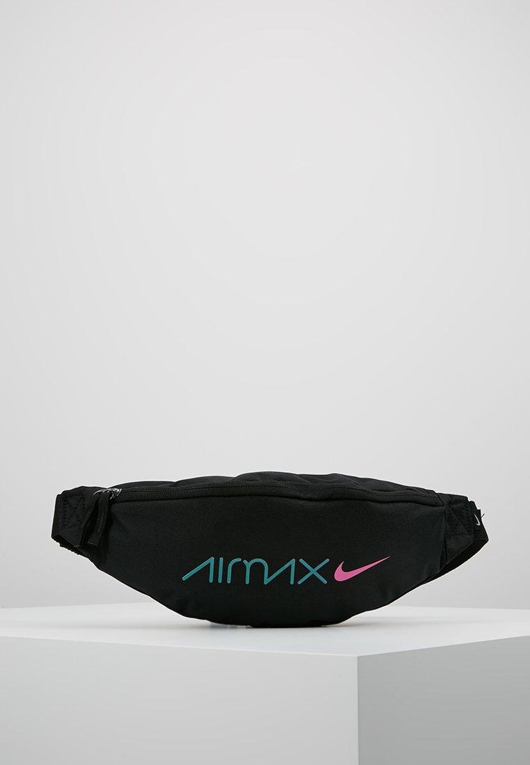 Nike Sportswear - HERITAGE HIP PACK DAY - Gürteltasche - black/laser fuchsia