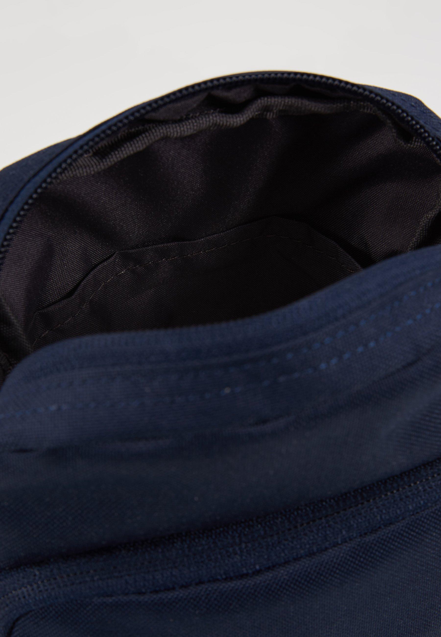 Nike Sportswear HERITAGE SMIT - Borsa a tracolla - obsidian/white CWuKna5P