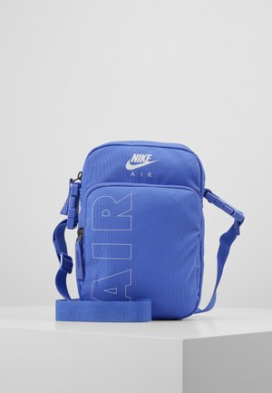 HERITAGE - Across body bag - sapphire/white