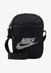 Nike Sportswear - NIKE HERITAGE - Borsa a tracolla - black/black/white - 1
