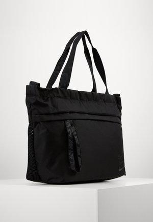 ADVANCED - Tote bag - black/smoke grey