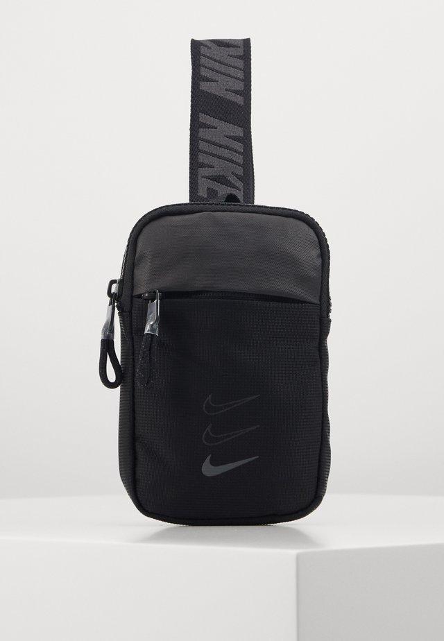 ESSENTIALS - Bum bag - black/smoke grey