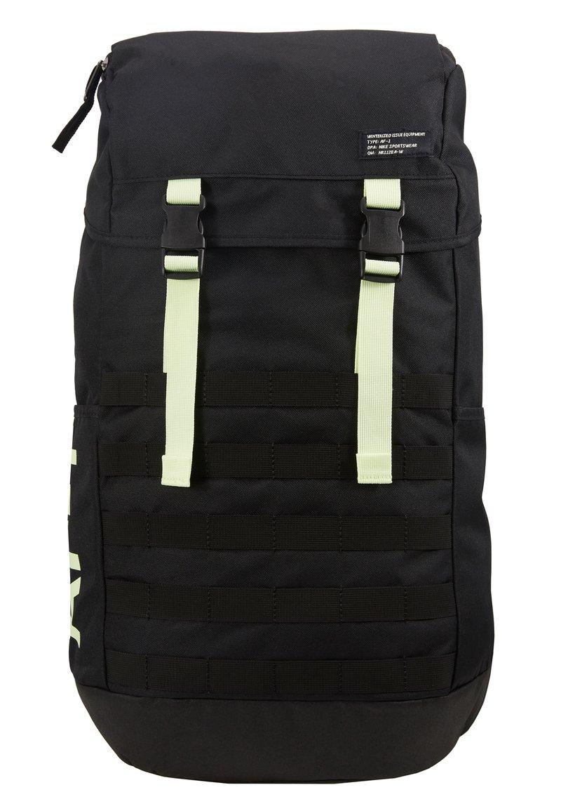 Nike Sportswear - Rugzak - black/barely volt