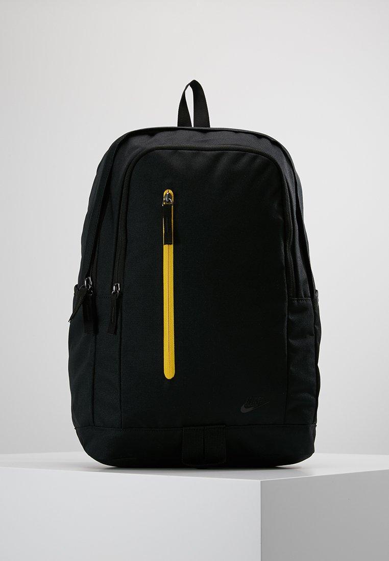 Nike Sportswear - ALL ACCESS SOLEDAY SOLID - Tagesrucksack - black/black gloss