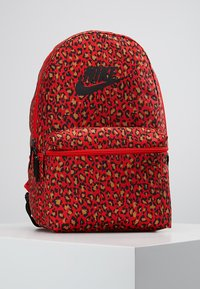 Nike Sportswear - HERITAGE BACKPACK - Rucksack - habanero red/black - 0