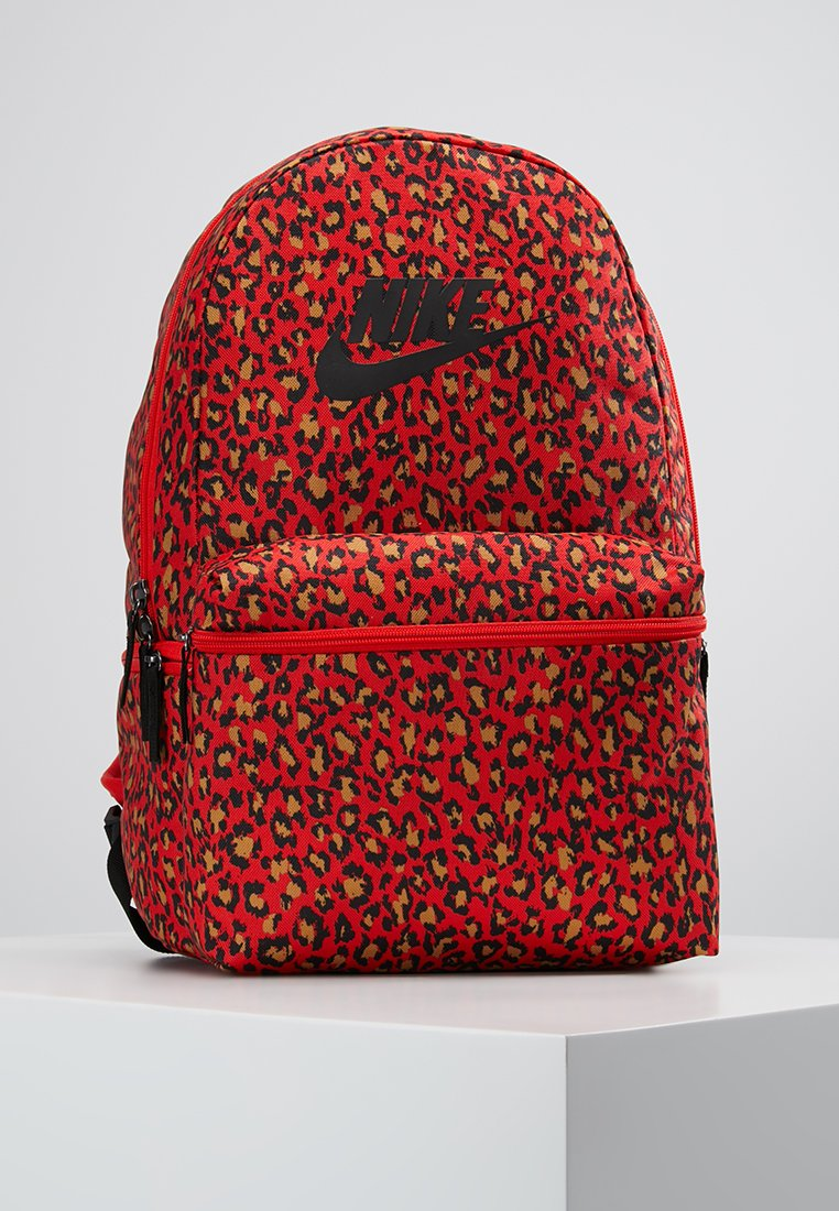 Nike Sportswear - HERITAGE BACKPACK - Rucksack - habanero red/black