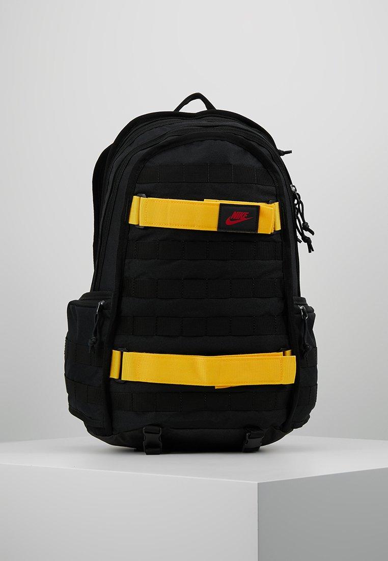 Nike Sportswear - Rucksack - black/yellow/university red