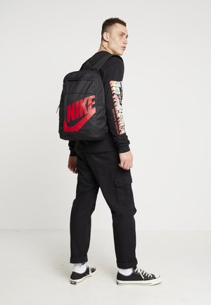 NIKE ELEMENTAL 2.0 - Mochila - black/university red
