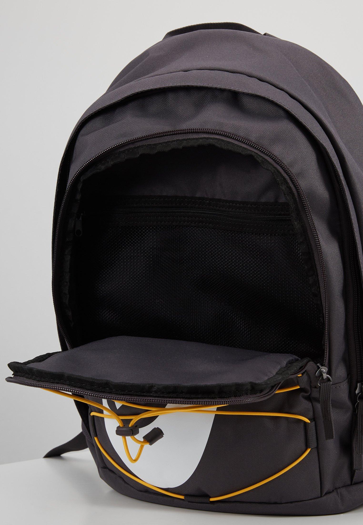 Nike Sportswear HAYWARD - Ryggsekk - thunder grey/university gold/white