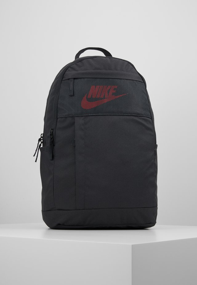 Rucksack - dark smoke grey/track red