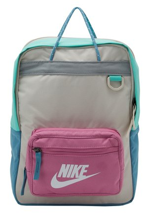 TANJUN - Tagesrucksack - light orewood brown/magic flamingo/white