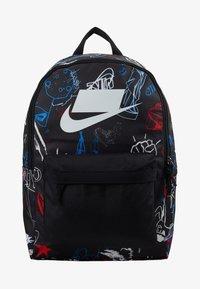Nike Sportswear - HERITAGE - Rucksack - black/white - 4
