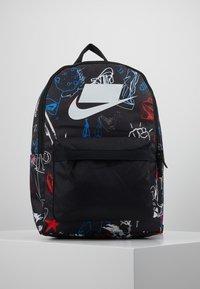 Nike Sportswear - HERITAGE - Rucksack - black/white - 1