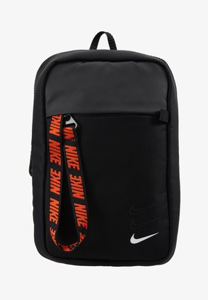 NIKE SPORTSWEAR ESSENTIALS HÜFTTASCHE - Across body bag - black/white