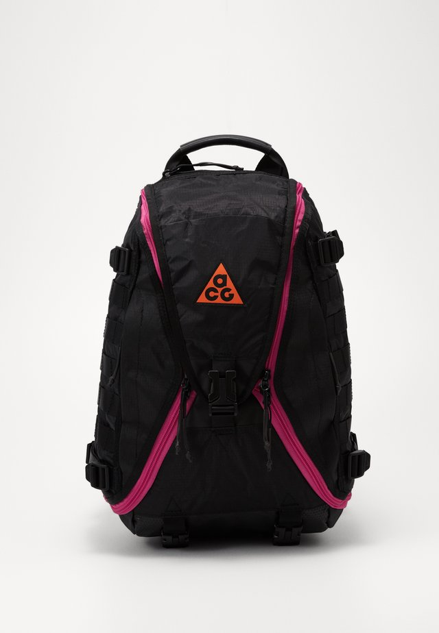RESPONDER SMALL - Rucksack - black/active fuchsia/safety orange