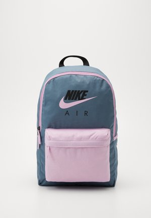 NIKE AIR HERITAGE - Sac à dos - ozone blue/light arctic pink