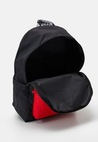 Nike Sportswear - NIKE AIR HERITAGE - Mochila - black/university red - 2