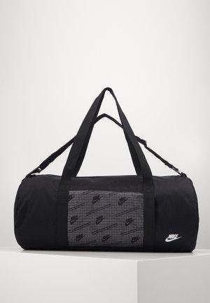HERITAGE DUFFLE  - Sports bag - black/black/white