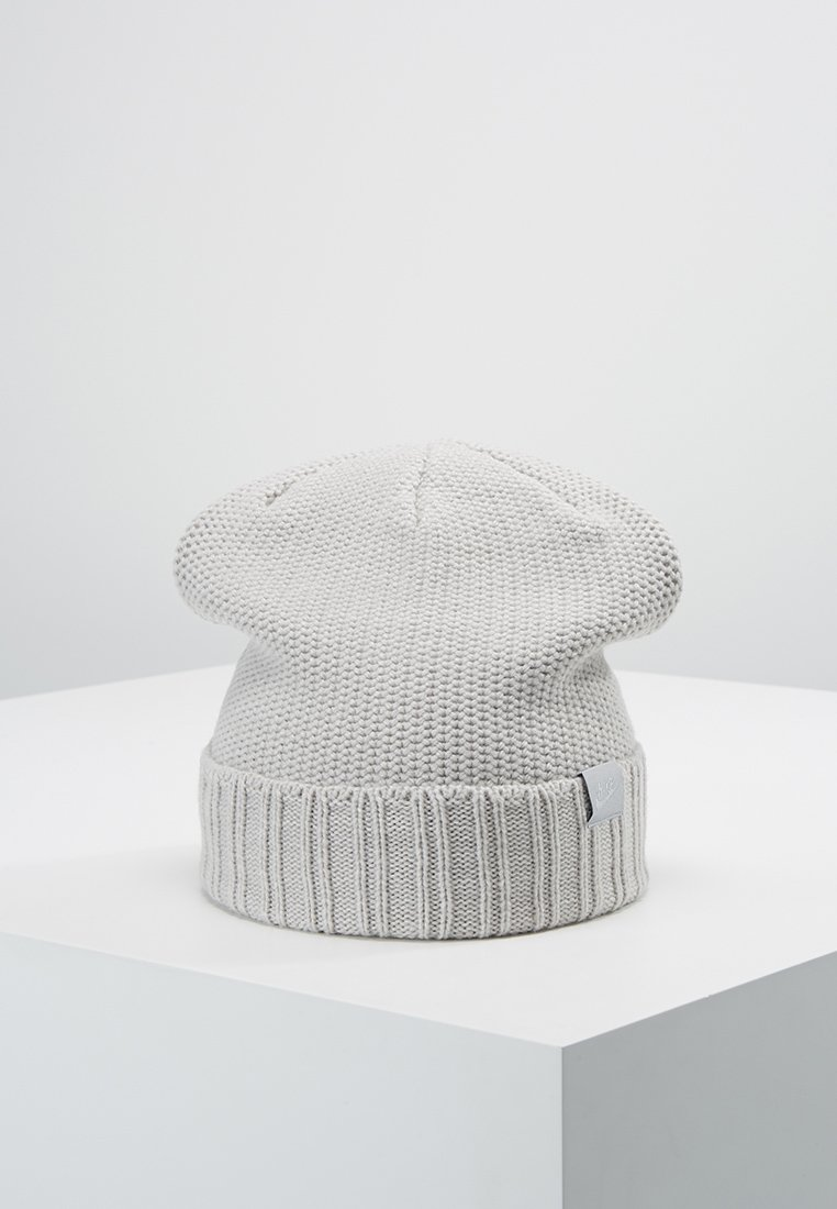 Nike Sportswear - BEANIE HONEYCOMB - Beanie - grey heather/wolf grey