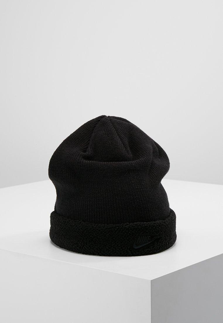 Nike Sportswear - BEANIE SHERPA - Bonnet - black