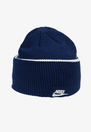 CUFFED BEANIE - Pipo - blue void
