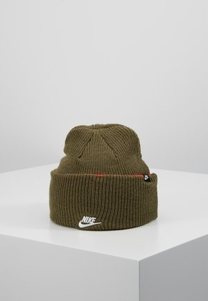 CUFFED BEANIE - Mössa - medium olive