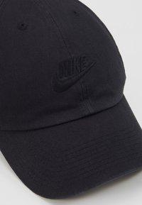 Nike Sportswear - FUTURA WASHED - Czapka z daszkiem - black - 2