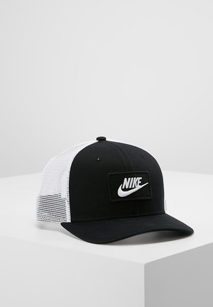 TRUCKER - Gorra - black/white