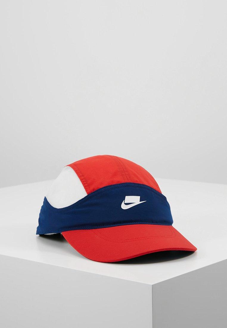 Nike Sportswear - CHECK - Cap - blue void/university red